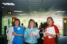 Attendees Enjoy Refreshments at the Break