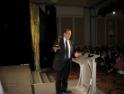 Andrew Young Accepts the Emmy