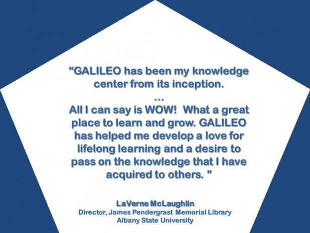 GALILEO Helped Me Develop a Love for Lifelong Learning