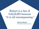 GALILEO is All Encompassing