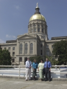 GALILEO Staff at the Georgia State Capitol