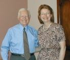 Jayne Williams Meets Jimmy Carter