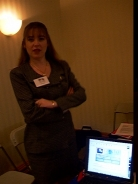 Kriste Ready to Show Attendees How to Use GALILEO