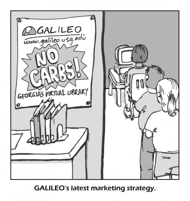 Cartoon: GALILEO's Latest Marketing Strategy