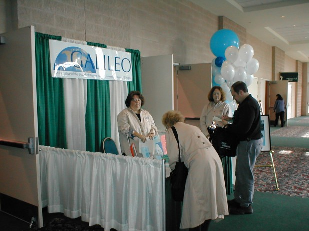Assisting Attendees at the Booth