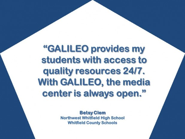With GALILEO, the Media Center is Always Open