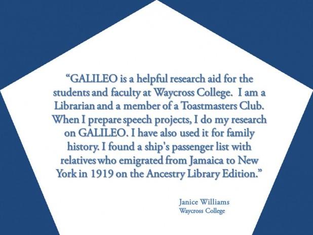 GALILEO: Helpful Research Aid