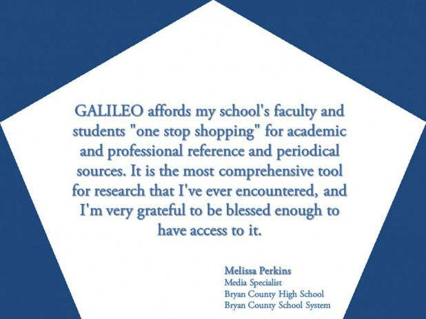 GALILEO: One-Stop Shopping for Research