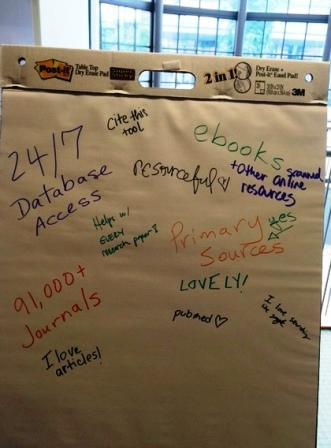 Students' Flip Chart About GALILEO