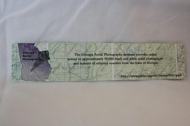 Georgia Aerial Photographs Bookmark