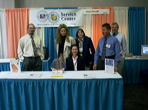 GALILEO PeachNet Service Center Staff at GaETC 1998
