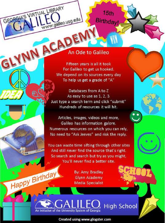 Glynn Academy's Ode to GALILEO
