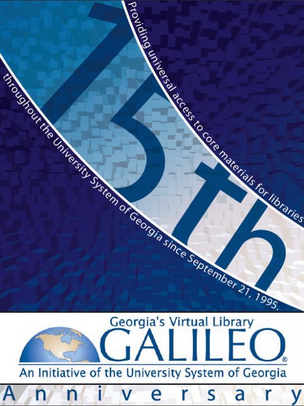 Georgia Southern University GALILEO Life Poster