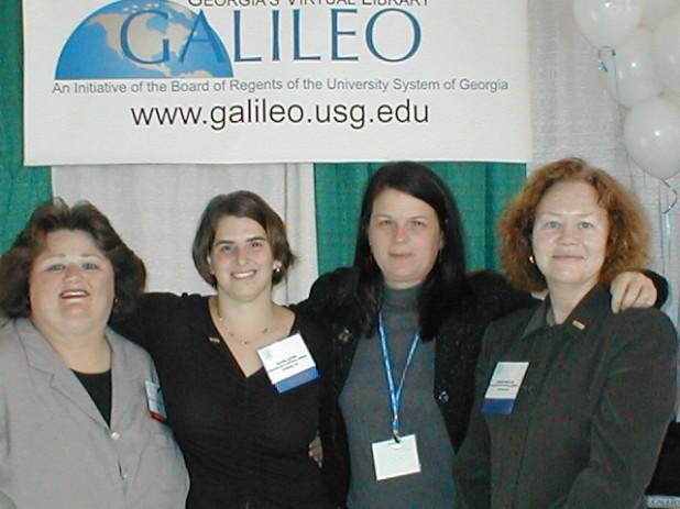 GALILEO Staff at TLC 2003