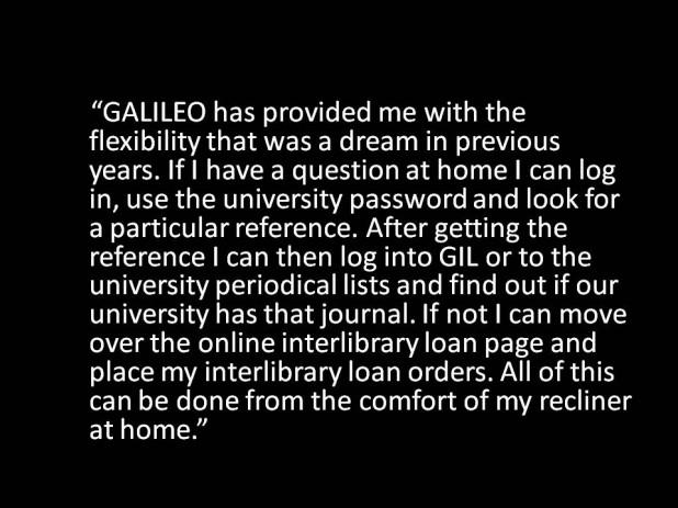 GALILEO Provides Flexibility of Access