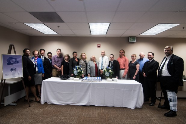Group Photo at the 20th Birthday Celebration at the University System Office