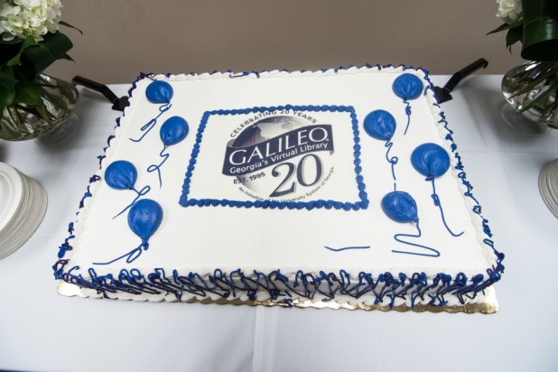 20th Birthday Cake at the University System Office