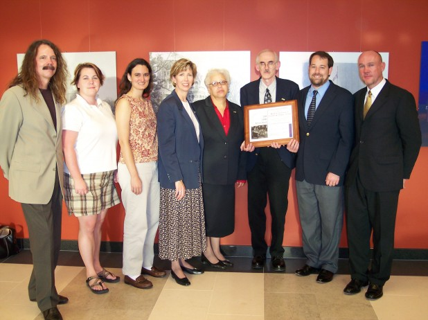 GHRAB Award Winners with Cathy Cox