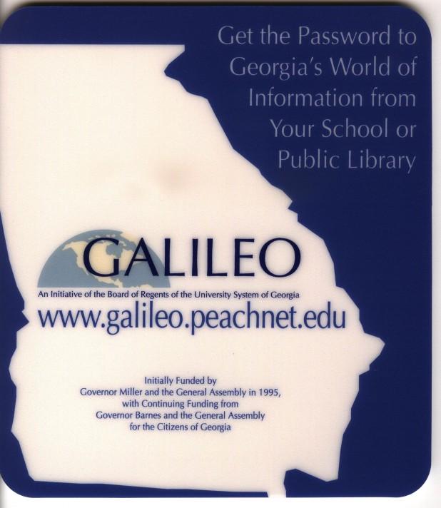 GALILEO Mousepad 2001