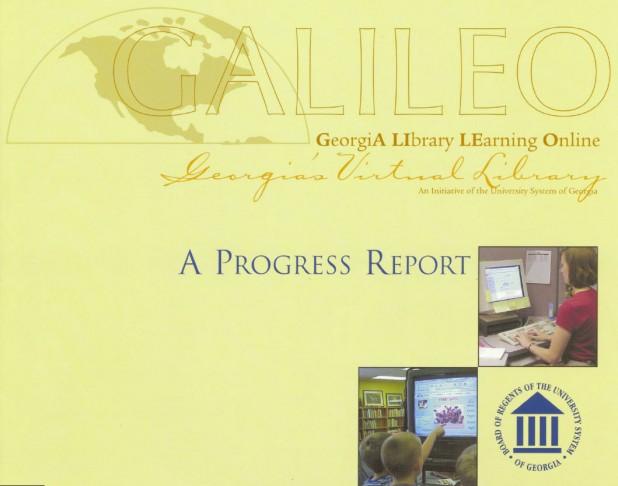 GALILEO Progress Report 2001