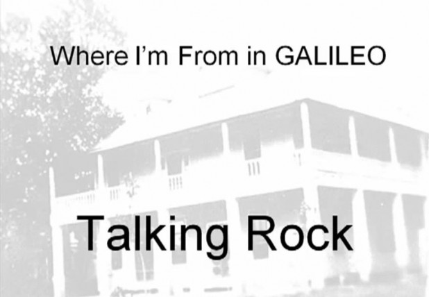 Where I'm From in GALILEO Video Example