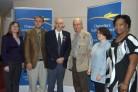Georgia Newspaper Digitizaton Team at Awards Ceremony