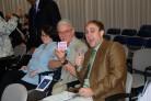 Donnie, Bob, and Mary at Awards Ceremony