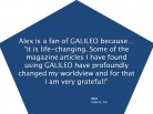 GALILEO: Find Life-Changing Information