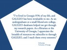 GALILEO Has Been Invaluable to Me