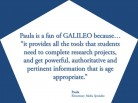 GALILEO: Authoritative and Pertinent Information for Student Research