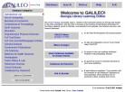 GALILEO Homepage 2000-2002
