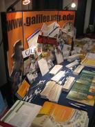 GALILEO Display at the Booth at COMO 2008
