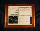 GHRAB Award Certificate