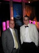 James and Craig in Front of the Emmy Stage