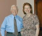Jayne Williams Meets Jimmy Carter