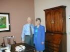 Judy Kelly with Jimmy Carter