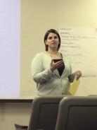 Katie Reports at 2006 GALILEO Staff Meeting