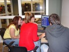 Students Use Library Resources to Collaborate on Projects