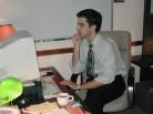 Philip Hard at Work