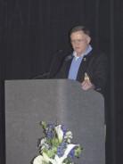 Senator Seth Harp Speaks