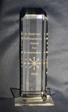 2006 WebFeat President's Awards for Innovation