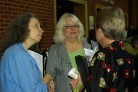 Lyn, Diana, and Cal Chat before the Conference
