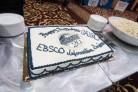 A cake to celebrate GALILEO's 20th Birthday Cake at COMO 2015