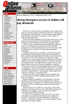 Article: Giving Georgians Access to GALILEO Will Pay Dividends