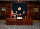 Governor Perdue Signs the Library Day Proclamation
