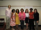 Barbara, Ed, and Students Celebrate CRDL launch
