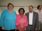 Ruta, Barbara, Toby, and Ed Celebrate CRDL